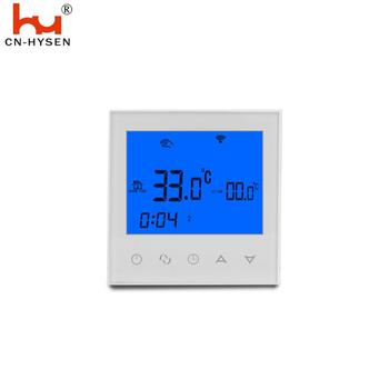 Weekly programmable underfloor  heating thermostat with touch screen