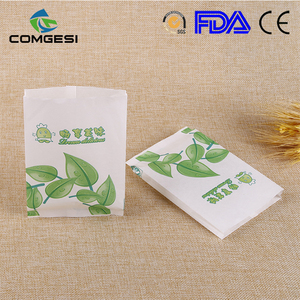 Promotional Custom Factory cheap paper food bag Corrugated Printed Carton recycle food packaging paper bags with logo print