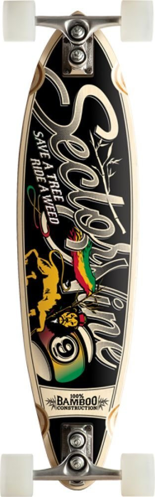 Sector 9 Bamboo Hot Steppa Sidewndr Complete 8.37x32.5 Skateboarding Completes