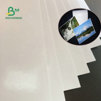 115g 135g 160g waterproof high glossy inkjet printing coated  photo paper