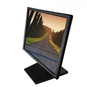 Newest PC Hardware Touch Screen VGA 4 Wired LCD Display Computer Monitor