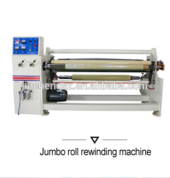 China manufacturer of log roll cutting Machine for Adhesive Tapes rolls