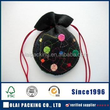 Felt Drawstring Bag - Buy Felt Drawstring Bag,Handmade Felt Bag ...
