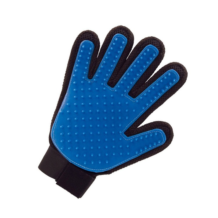Pet Finger Grooming Gloves Dog Deshedding Tool For Dogs And Cats ...