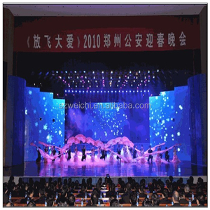 aliexpress hair indoor advertising rental light-weight magic led curtain screen