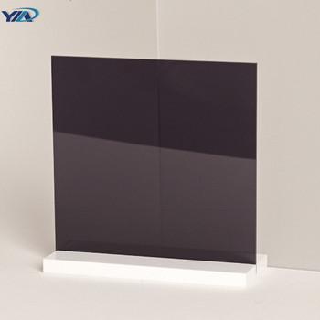 Paneles Aislantes De Vidrio Con Marco Negro Sonido Aislante Prueba ...