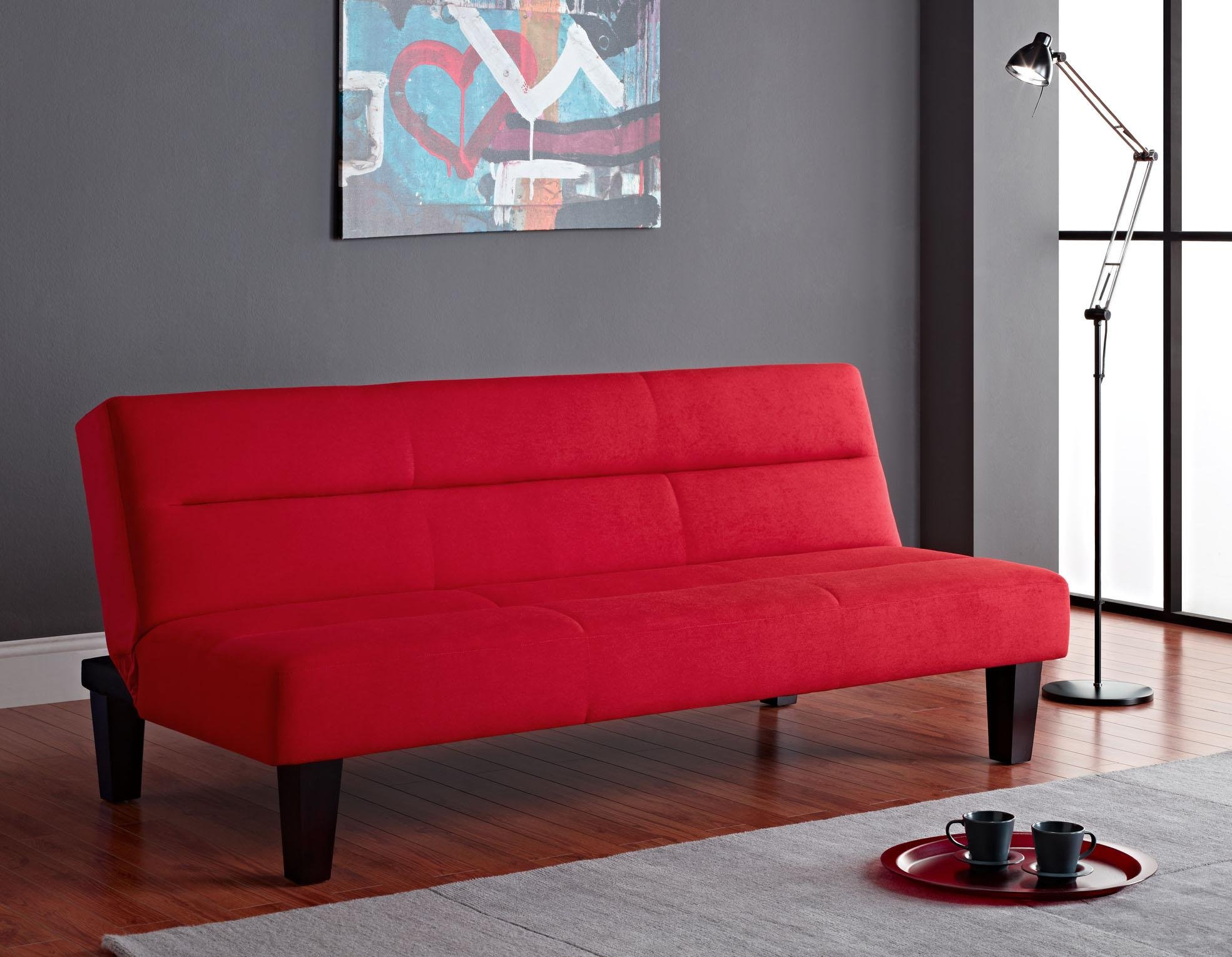 Get Quotations Kebo Futon Sofa Red