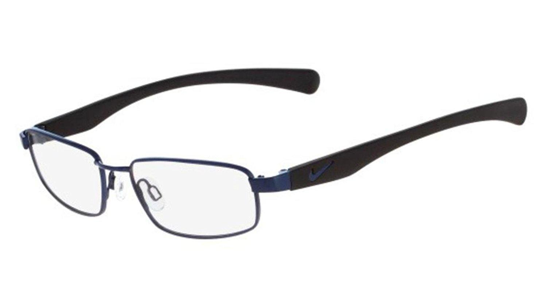 daabc7e5ec Get Quotations · Nike NIKE 4635 Eyeglasses 424 Blue-Black