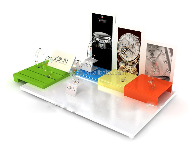 hot sale luxury acrylic watch display stand