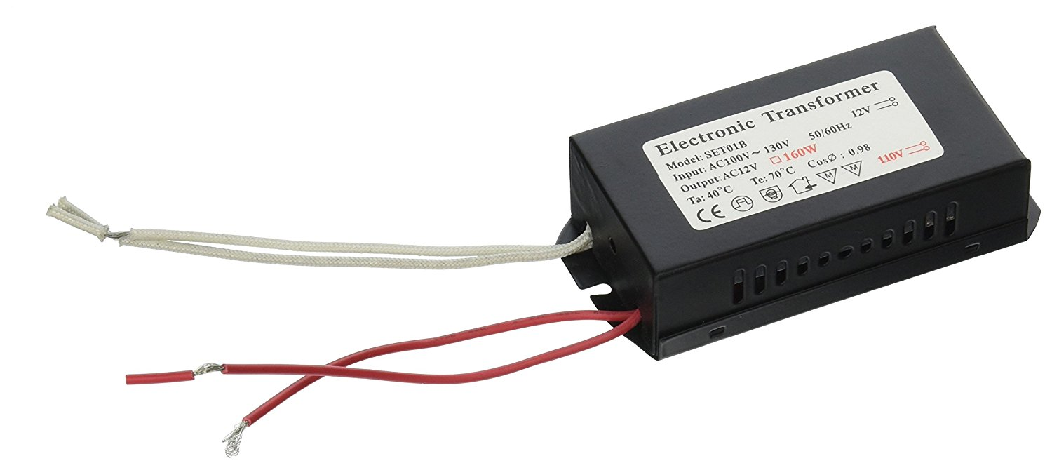 Cheap 12v Lamp Transformer Find Deals On Line New To Electronics 12vdc Supply From 120vac How Does It Work Get Quotations 12vmonster 160w 100v 120v Halogen Spot Power Low Voltage Mr16 Bulb