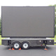 Outdoor Programmable Led Display Screen Advertising Trailer