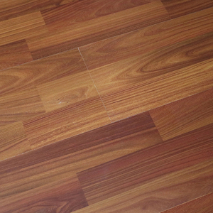 12mm ac2 teak color shandong factory parquet laminate flooring