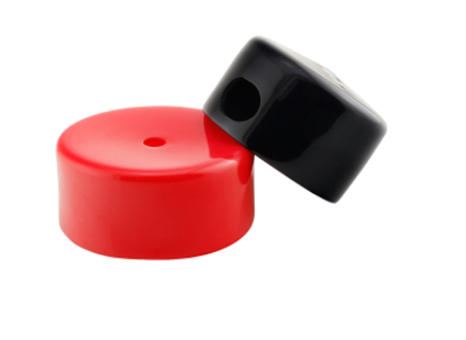 3mm pvc end cap for steel pipes/plastic caps for tubes/small plastic end caps