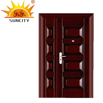 Reasonable Price Front Steel Safety Entry Door Designs