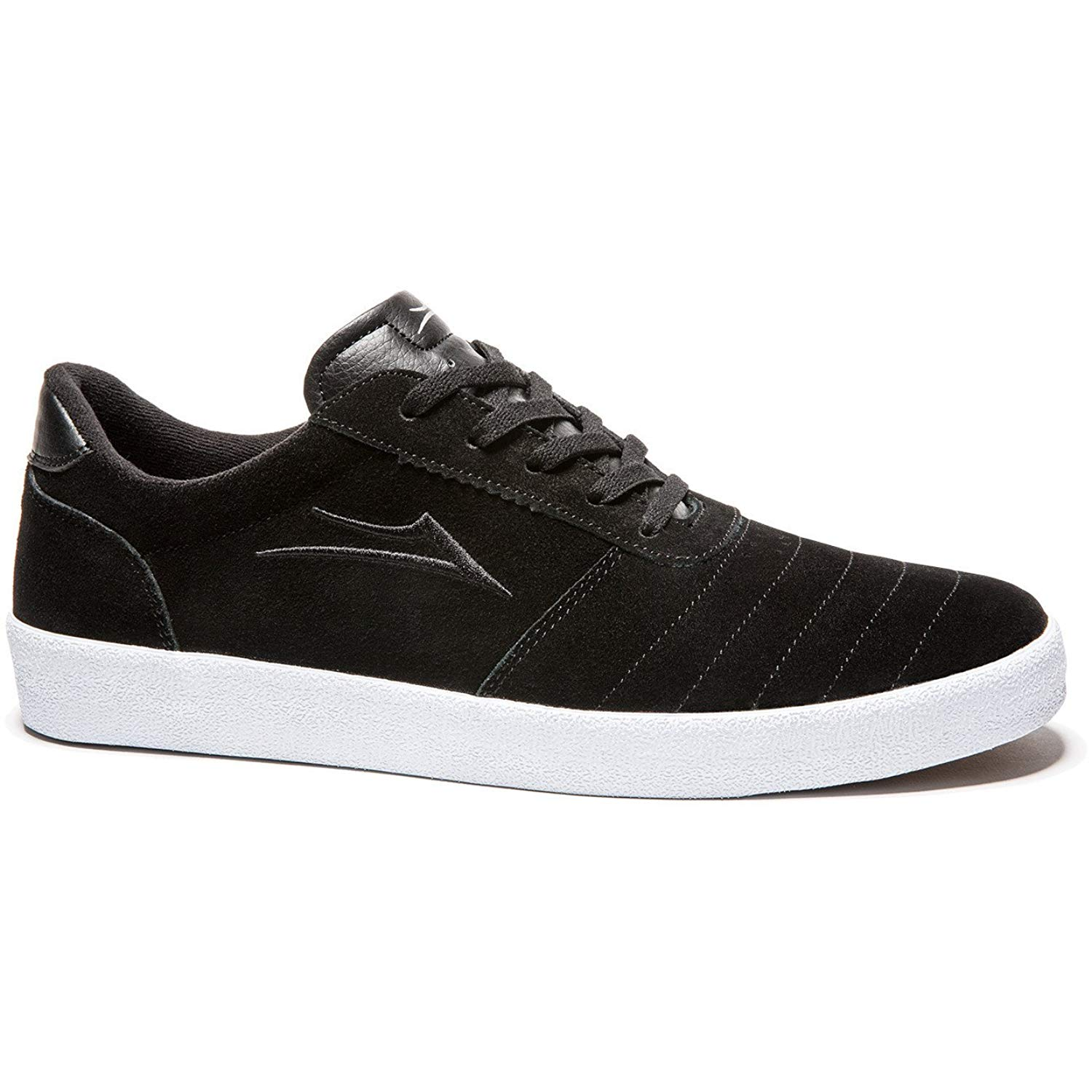Lakai Salford (Black/White) Skateboard Shoes