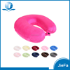 Colorful Wholesale Memory Foam Travel Neck Pillow