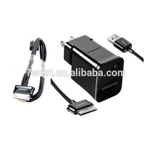USB travel adapter&sync charge cable for Samsung Galaxy TAB tablet