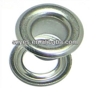 high quality custom speed lace eyelets, metal eyelets for curtains