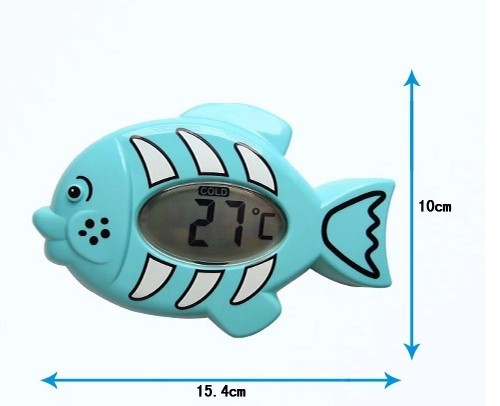 EN71 Waterproof fish shape Baby Digital Bath thermometer