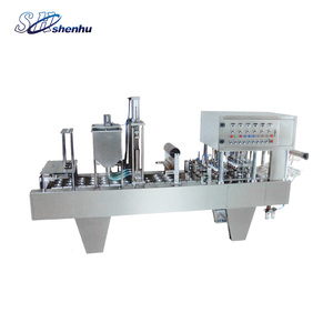 China Manufacturer Plastic Container Bubble Tea Cup Sealing Machine