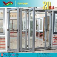 New product low price the newest design sound insulation folding bathtub shower door