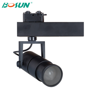 Zoom LED Track Spot Light Beam Angle Adjustable 15W 25W 35W LED Track Light for Art Gallery