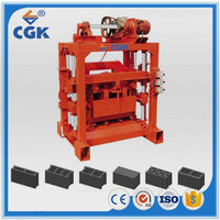 CGK 4-40B concrete blocks making business plan machine with high quality