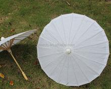 0883bfbafe97 Nuovo Colore Bianco Lungo manico Da Sposa Ombrelloni Carta Cinese ombrelli  craft Diametro di 23.6 pollici
