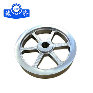 China foundry OEM drawing sand casting cast iron flywheel