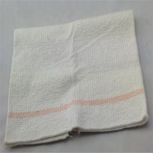 Gray color recycled cotton floor cleaning cloth