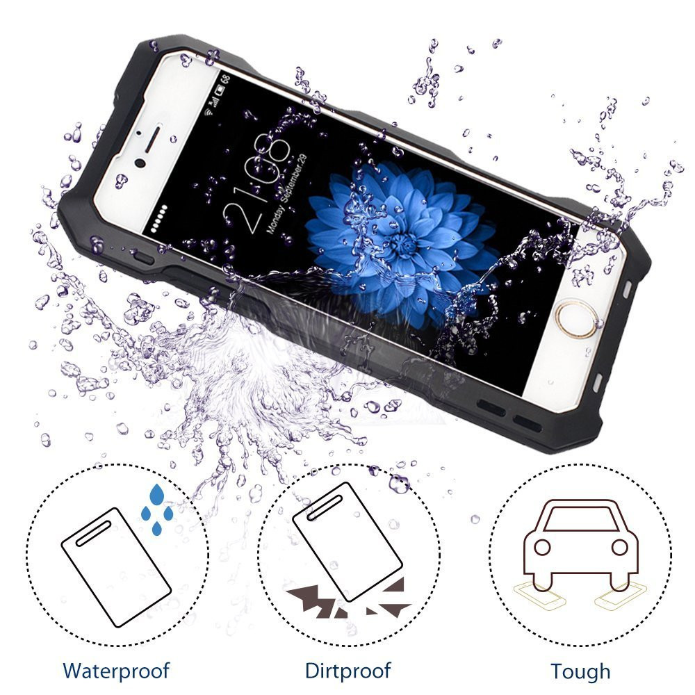IP54 Waterproof Fish eye Lens Phone Case for iPhone 7 For Cellphone Apple