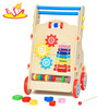 wholesale hot sale kids wooden outdoor baby walker funny children wooden outdoor baby walker W16E053