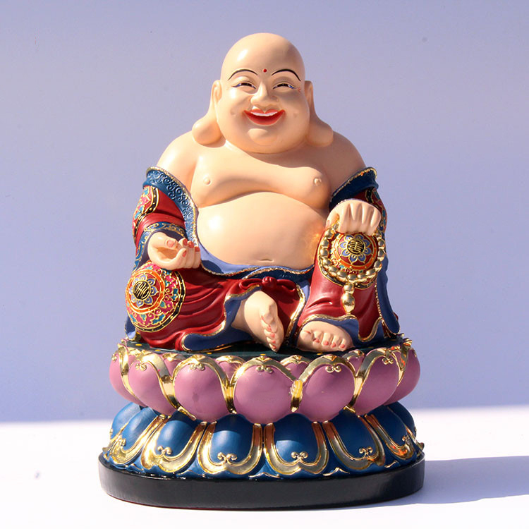 Popular Laughing Resin Happy Buddha Figurine