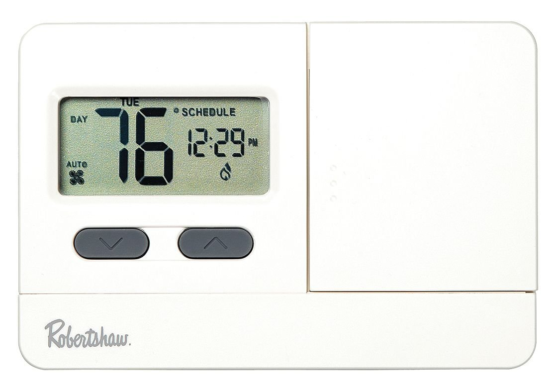 Digital Thermostat, 2H, 1C, Hp, 5-2 Programmable