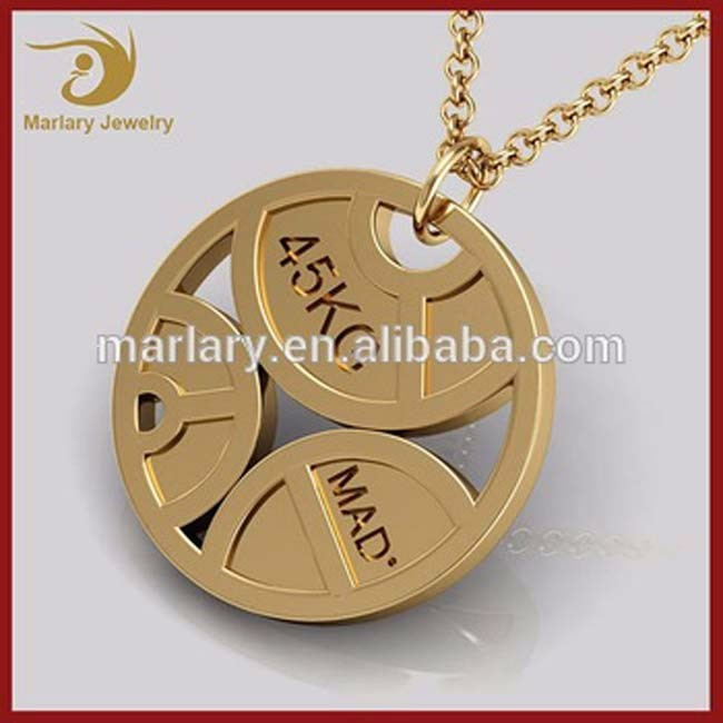 pendant fitness muscle image men products sports gym for necklaces necklace jewelry product