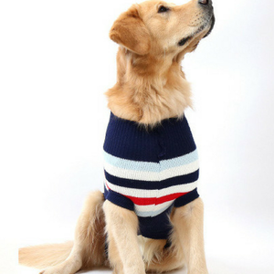 Fashion Stripe pet clothes x large apparel dog sweater
