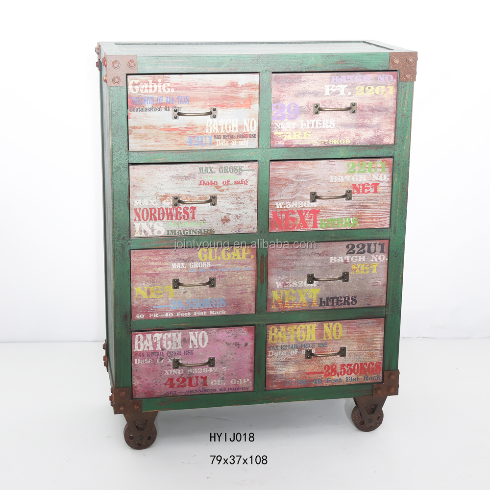 Industrial Style Cabinet Shabby Chic Furniture - Buy Shabby Chic ...
