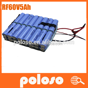 60V 5000mah electric unicycle/scooter/monocycle battery pack
