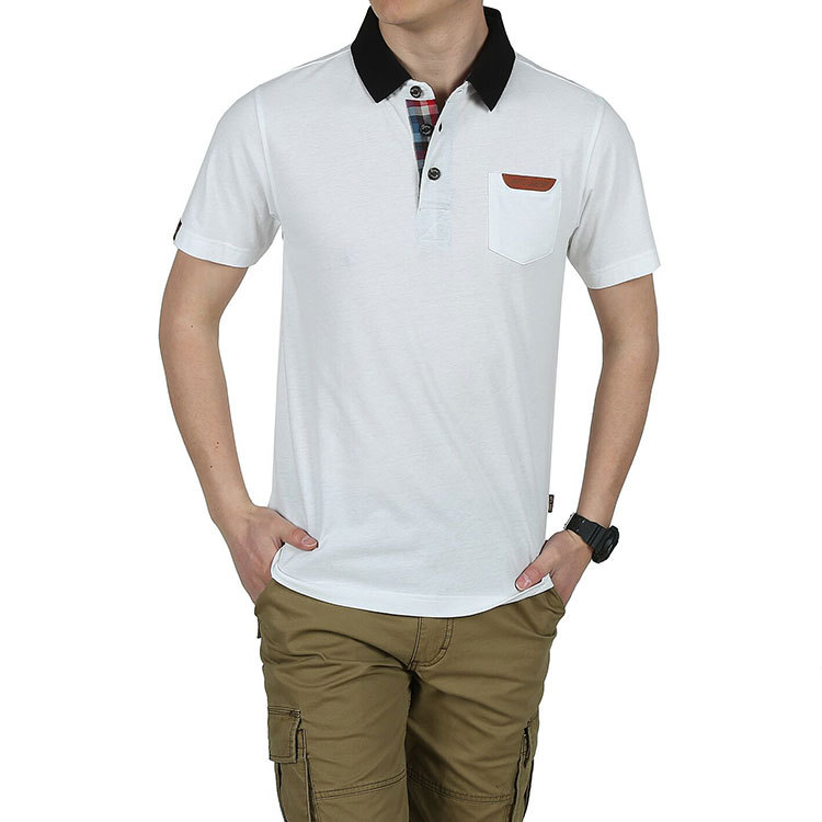 b8692a85 Get Quotations · 2015 New Summer Polo Fashion Business Shirt Men Cotton Solid  Color AFS JEEP Brand Jerseys Short
