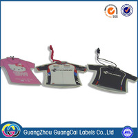 High quality custom design clothing tag label paper stickers