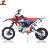 125cc pitbike dirt bike  electric start 12/14 motorcycle cross Gas/Diesel Fuel and 4-Stroke Engine