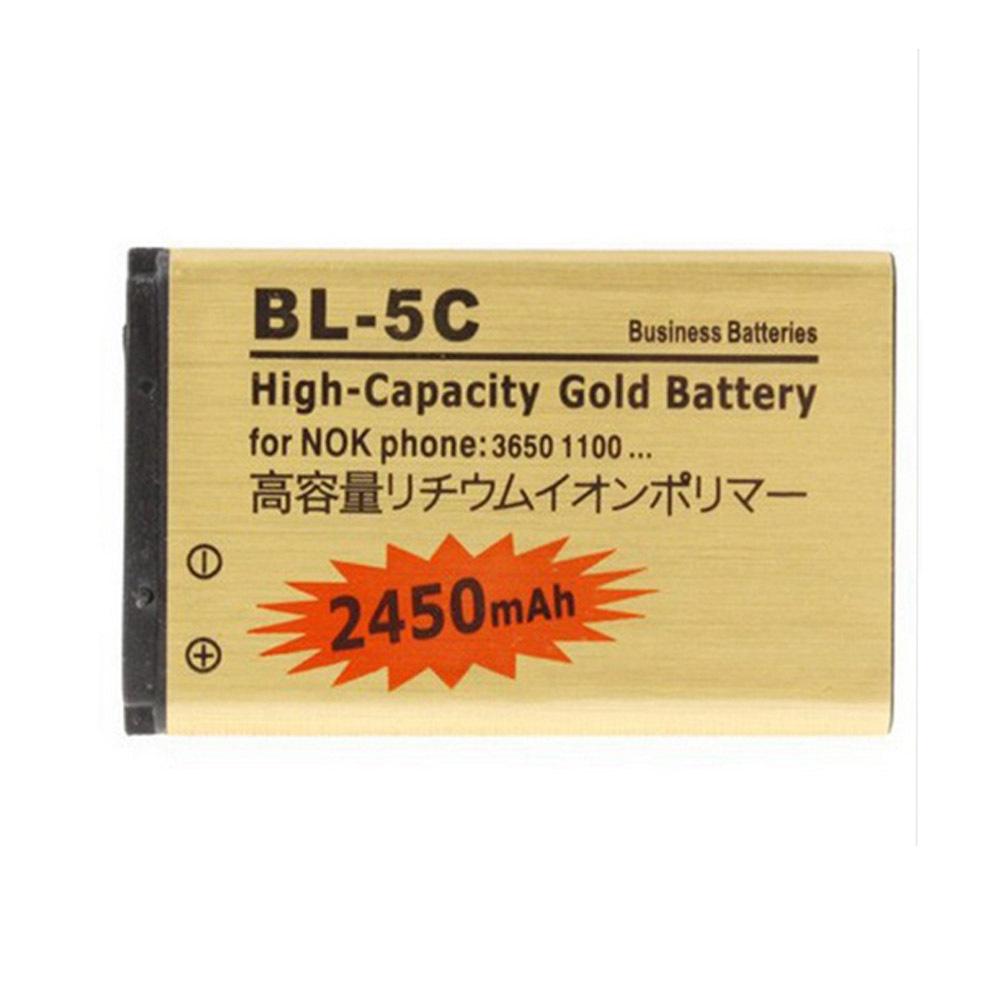 Original ABV Golden bateria BL5C BL-5C Battery for Nokia 1000/1010/1100/1108/1110/1111/1112/1116/2730 BL-5CA battery