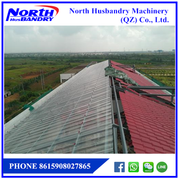 Excellent warehouse Design for Prefabricated Broiler Poultry Farm