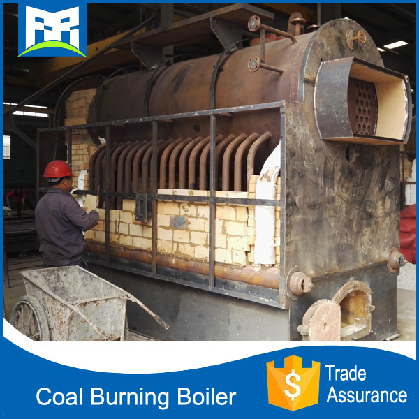 Complete seperated assembled 20 tons coal condensing boiler