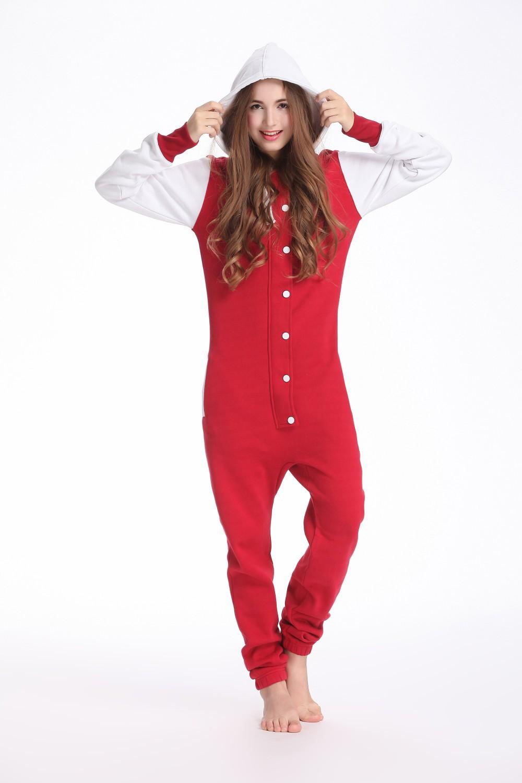 bca02efcdae9 baseball jumpsuits for women unisex playsuit hoodie fleece Romper Onesie