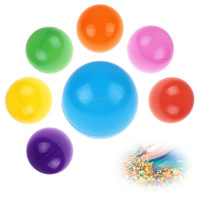 All Year Hot Sale Crazy 100 pcs Colored Hollow Plastic Ball Baby For Kid Toy Swim Pit Ball