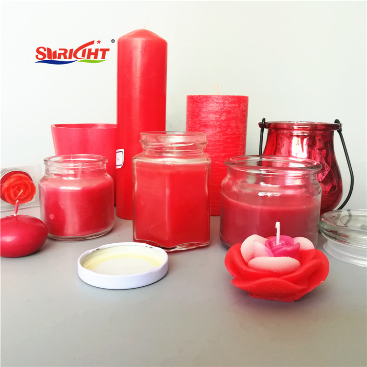 Home Use Fragrance Lady Scented Red Art Candle