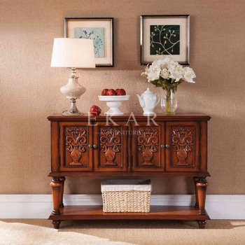 Furniture manufacturer list oak wood stand wood carving furniture antique  design console table