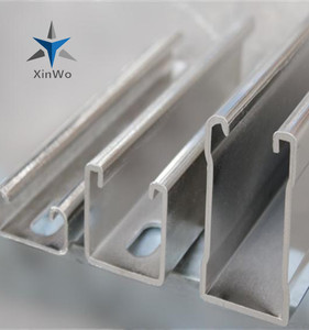 Galvanized Steel Sheet Slotted Unistrut Channel Factory Direct Supply