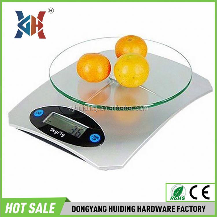 Hot selling vogue kitchen scale 1 pieces Lithium battery digital